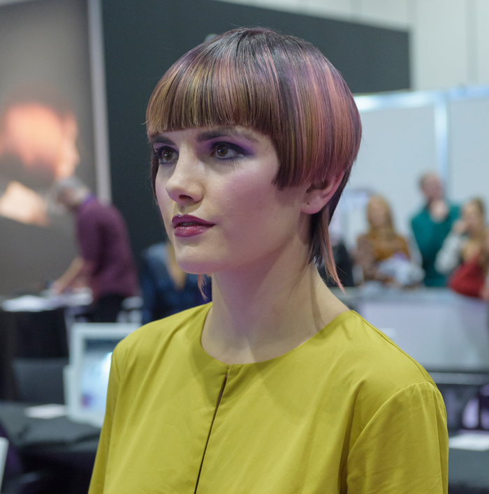 Hairdressing Student of the Year at Salon international 2019