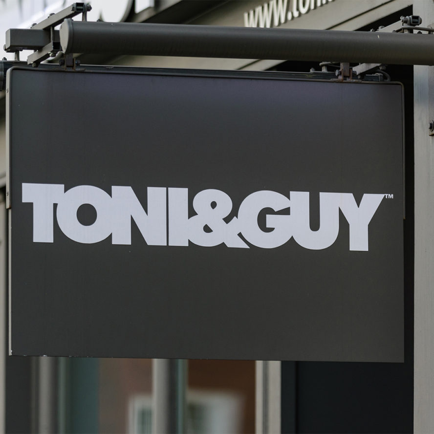 Toni guy superbrands
