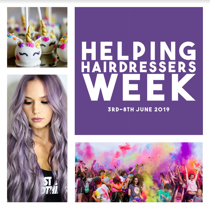 helping hairdressers week