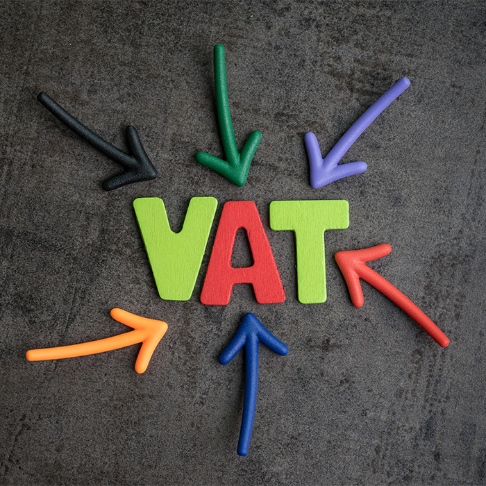 salon VAT registered VAT logo