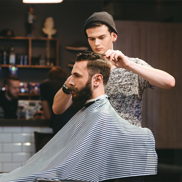 student barber competition