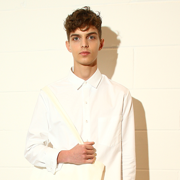 band of outsiders London Fashion Week Men's SS20 hair trends