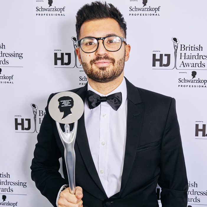 Gianluca Caruso Newcomer of the Year 2018