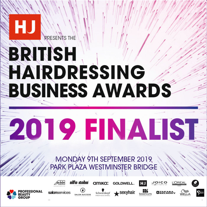 British hairdressing business awards 2019 finalists