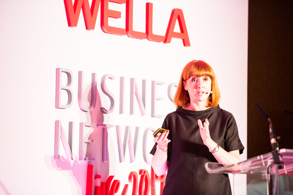 cally beaton at wella business network live