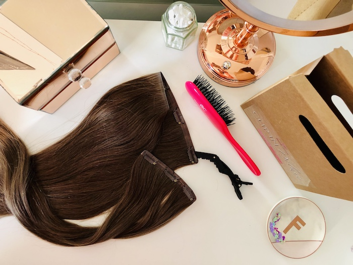 clip hair extensions market
