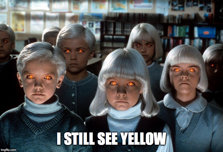 what clients mean I still see yellow meme