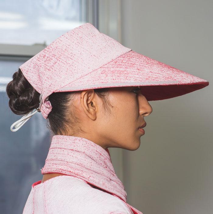 hair accessories claudia li nyfw