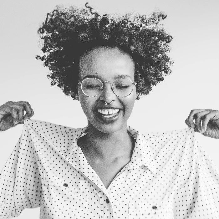 history of curly hair - subrina Kidd