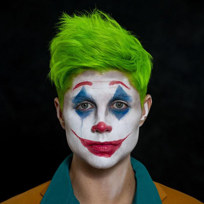 the joker halloween look