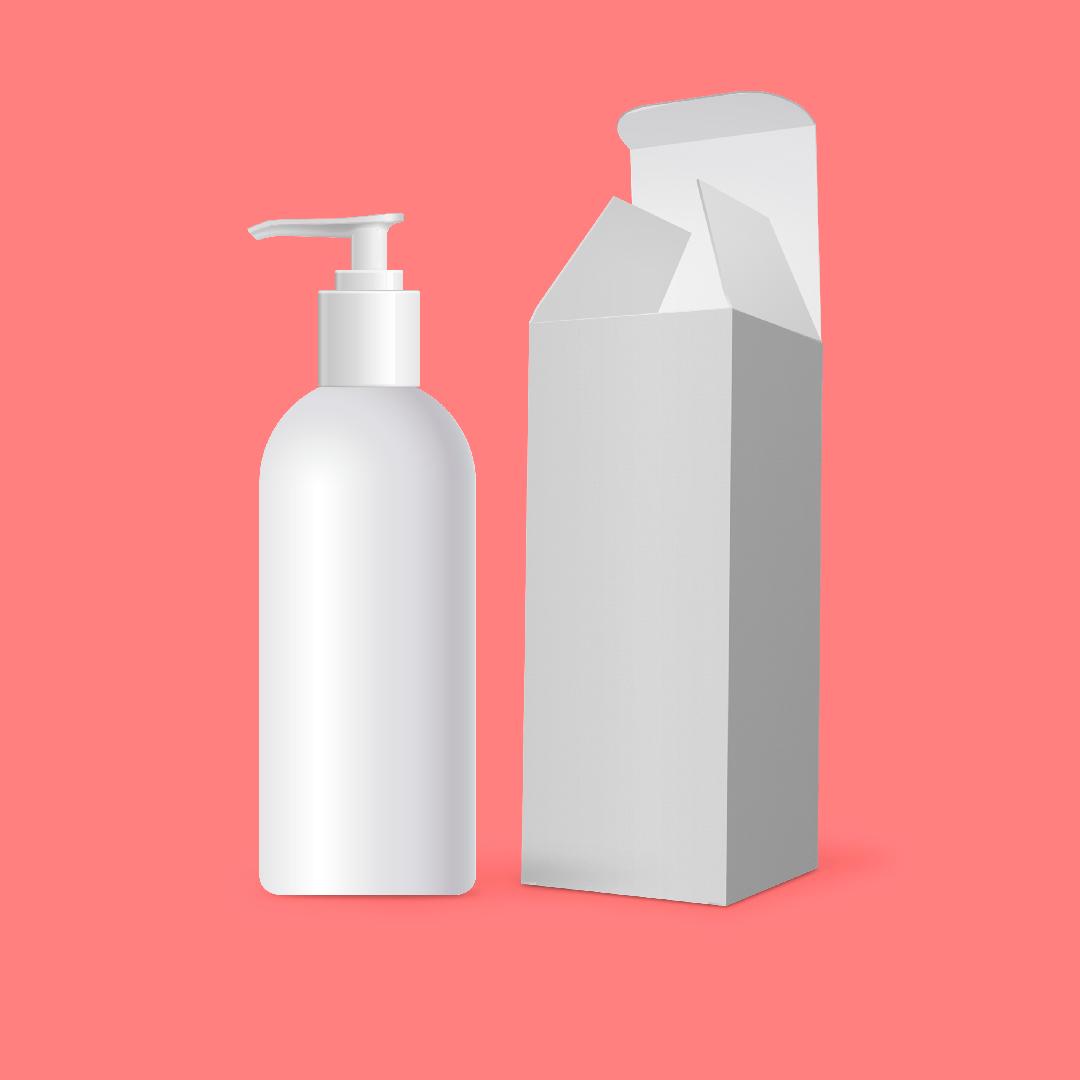 en route hair beauty salon empty shampoo bottles