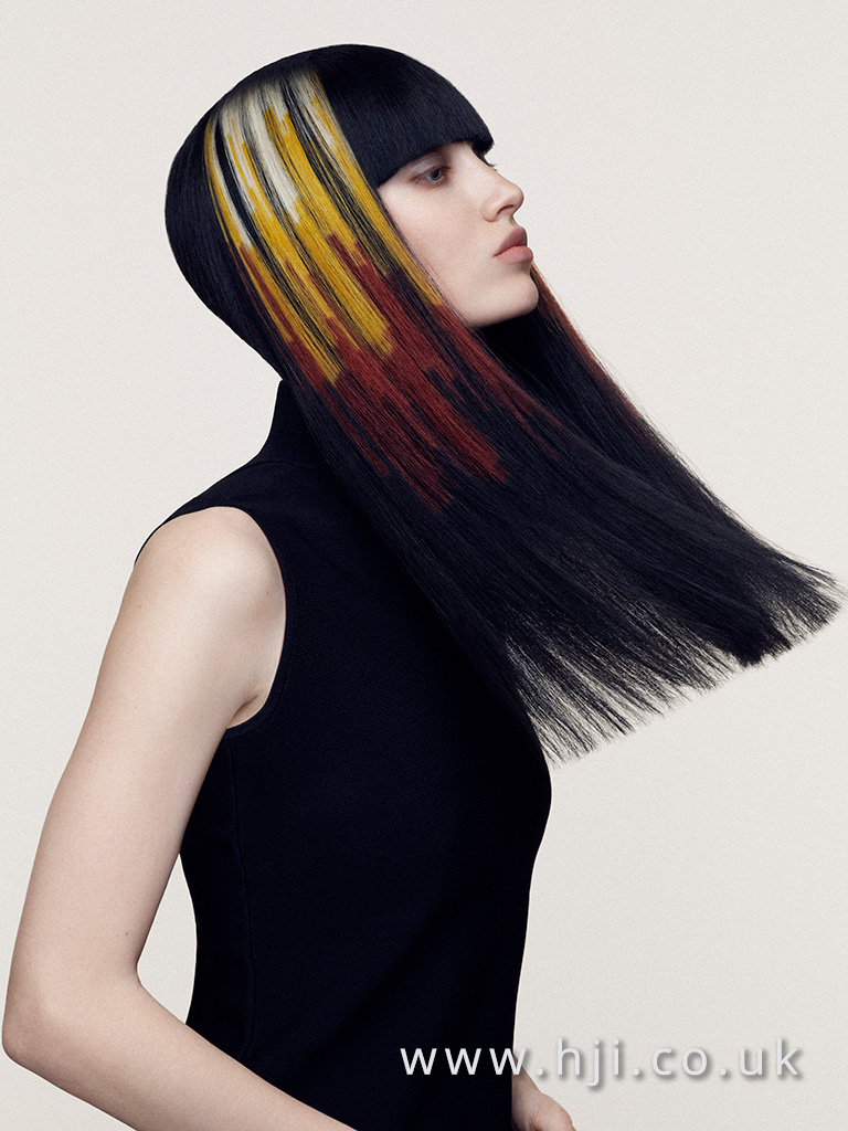 Angelo Seminara British Hairdresser of the Year 2016 Collection Pic 7