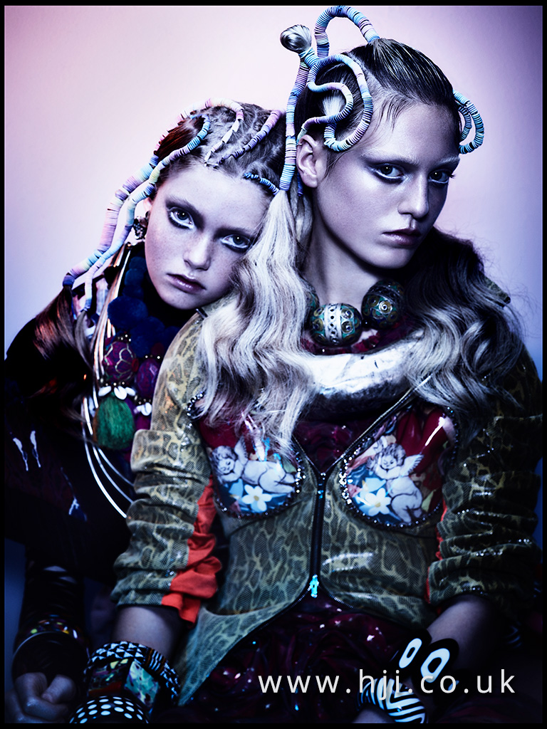 Sally Brooks British Hairdresser of the Year 2017 Collection Pic 1