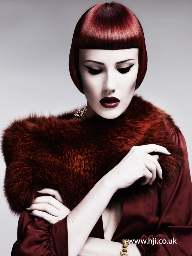 Akin Konizi British Hairdresser of the Year 2011 Collection Pic 1