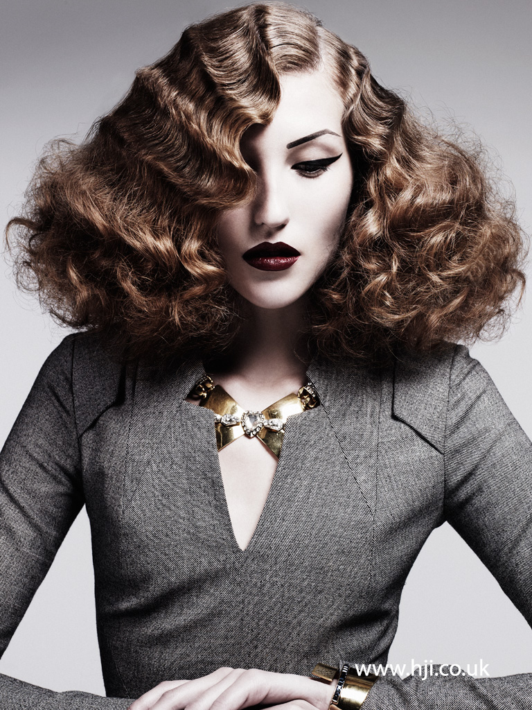 Akin Konizi British Hairdresser of the Year 2011 Collection Pic 3