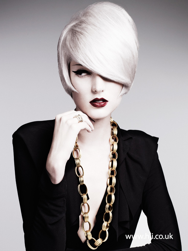 Akin Konizi British Hairdresser of the Year 2011 Collection Pic 4