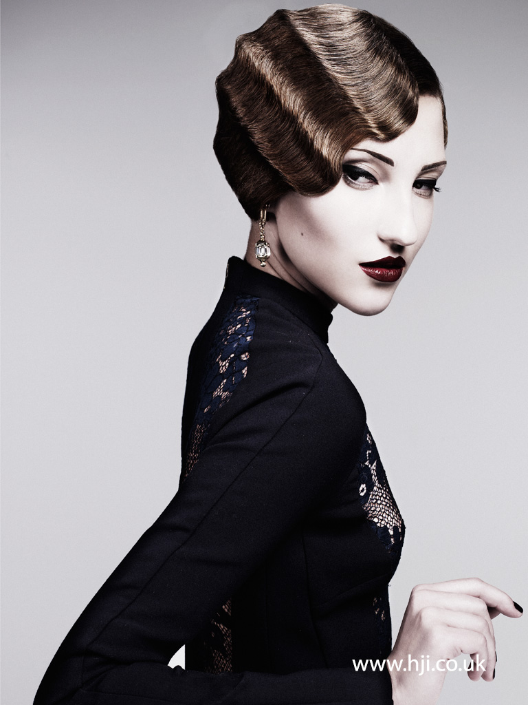Akin Konizi British Hairdresser of the Year 2011 Collection Pic 5