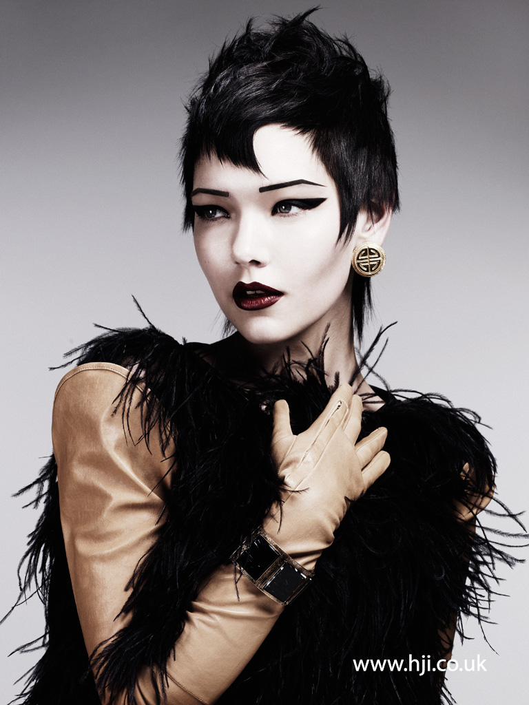 Akin Konizi British Hairdresser of the Year 2011 Collection Pic 6