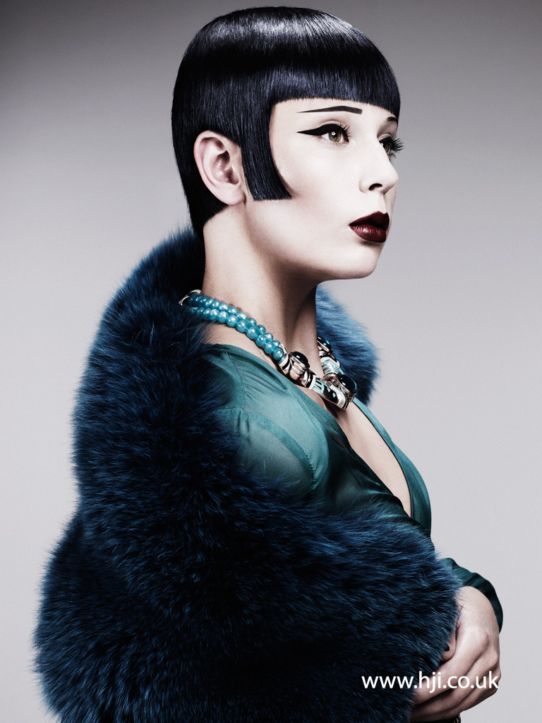 Akin Konizi British Hairdresser of the Year 2011 Collection Pic 8