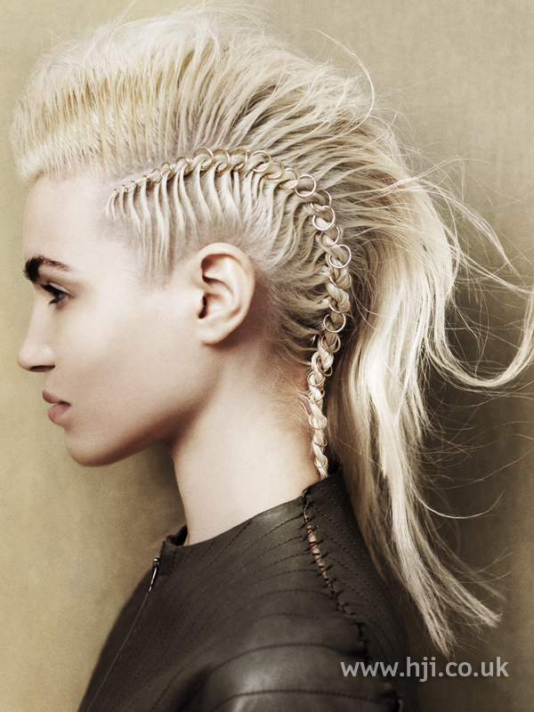Angelo Seminara British Hairdresser of the Year 2010 Collection Pic 2
