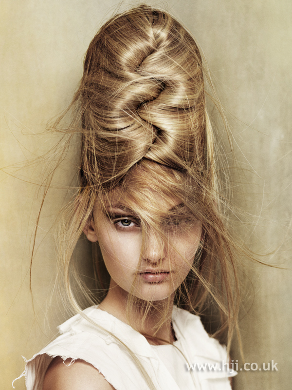 Angelo Seminara British Hairdresser of the Year 2010 Collection Pic 3
