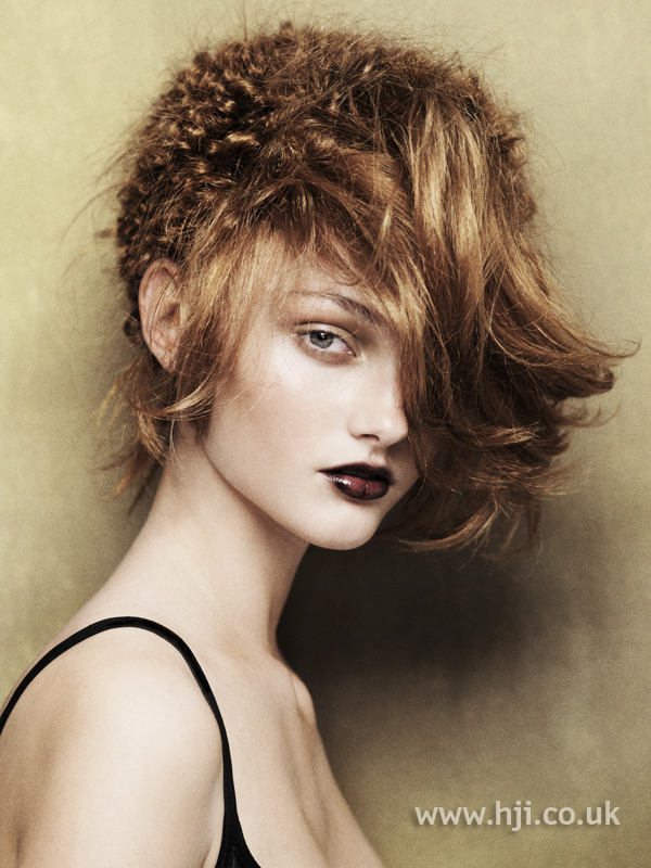 Angelo Seminara British Hairdresser of the Year 2010 Collection Pic 4