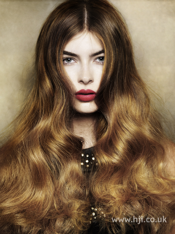Angelo Seminara British Hairdresser of the Year 2010 Collection Pic 5
