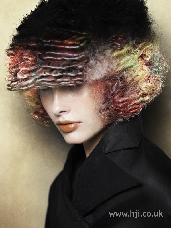 Angelo Seminara British Hairdresser of the Year 2010 Collection Pic 6