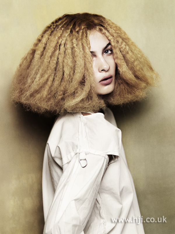 Angelo Seminara British Hairdresser of the Year 2010 Collection Pic 8
