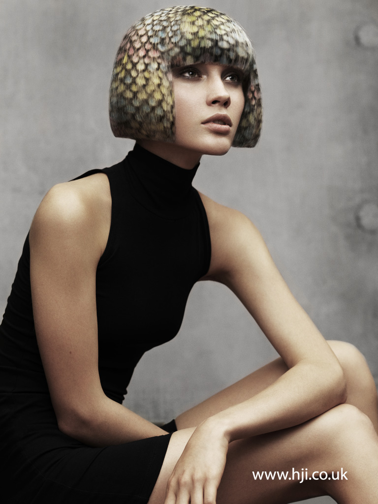 Angelo Seminara British Hairdresser of the Year 2012 Collection Pic 3