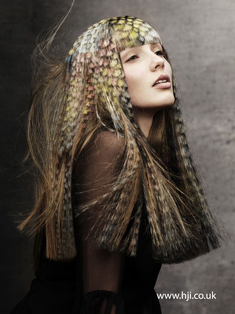 Angelo Seminara British Hairdresser of the Year 2012 Collection Pic 8