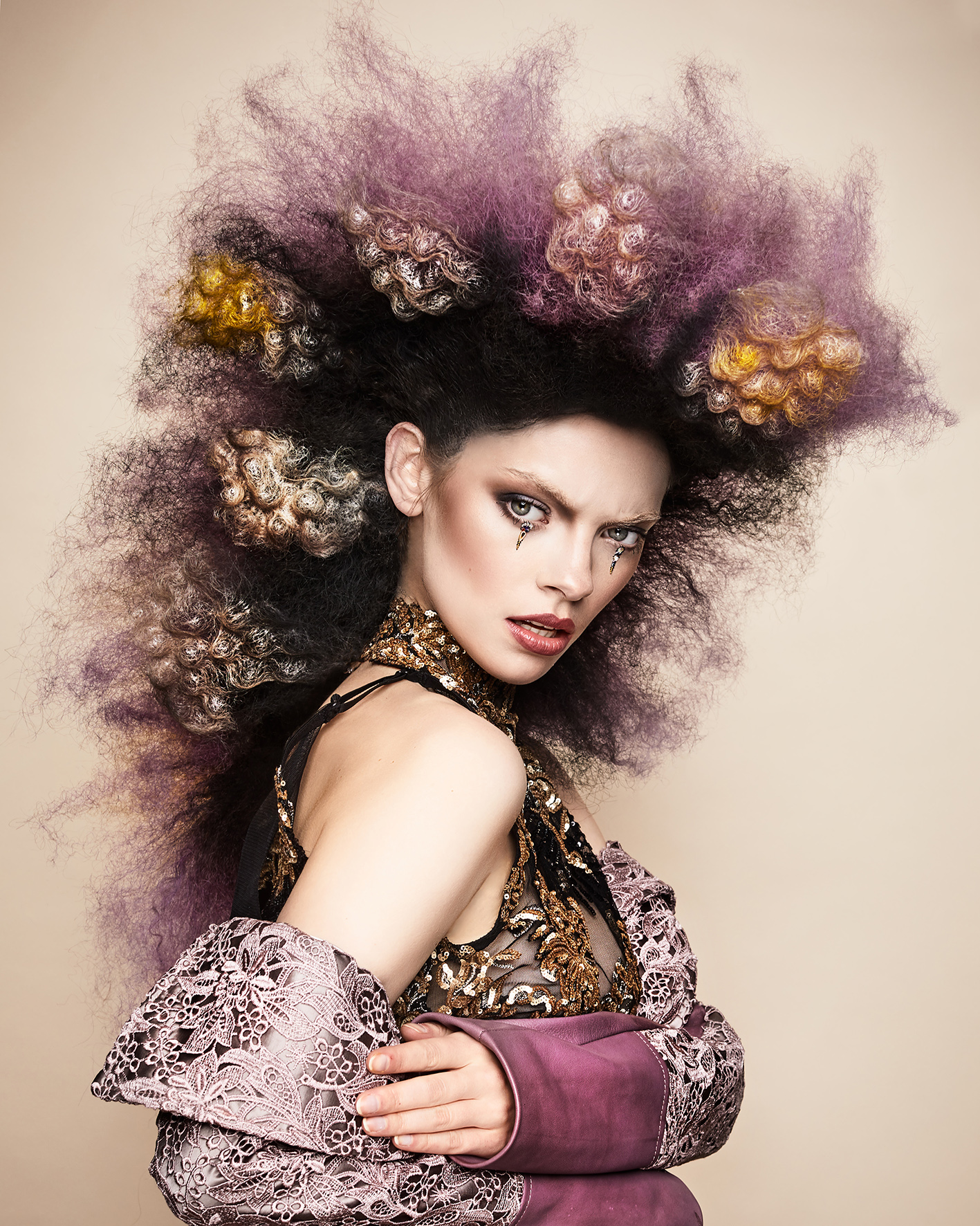 Sylvestre Finold Avant Garde Hairdresser of the Year 2018 Collection pic 3