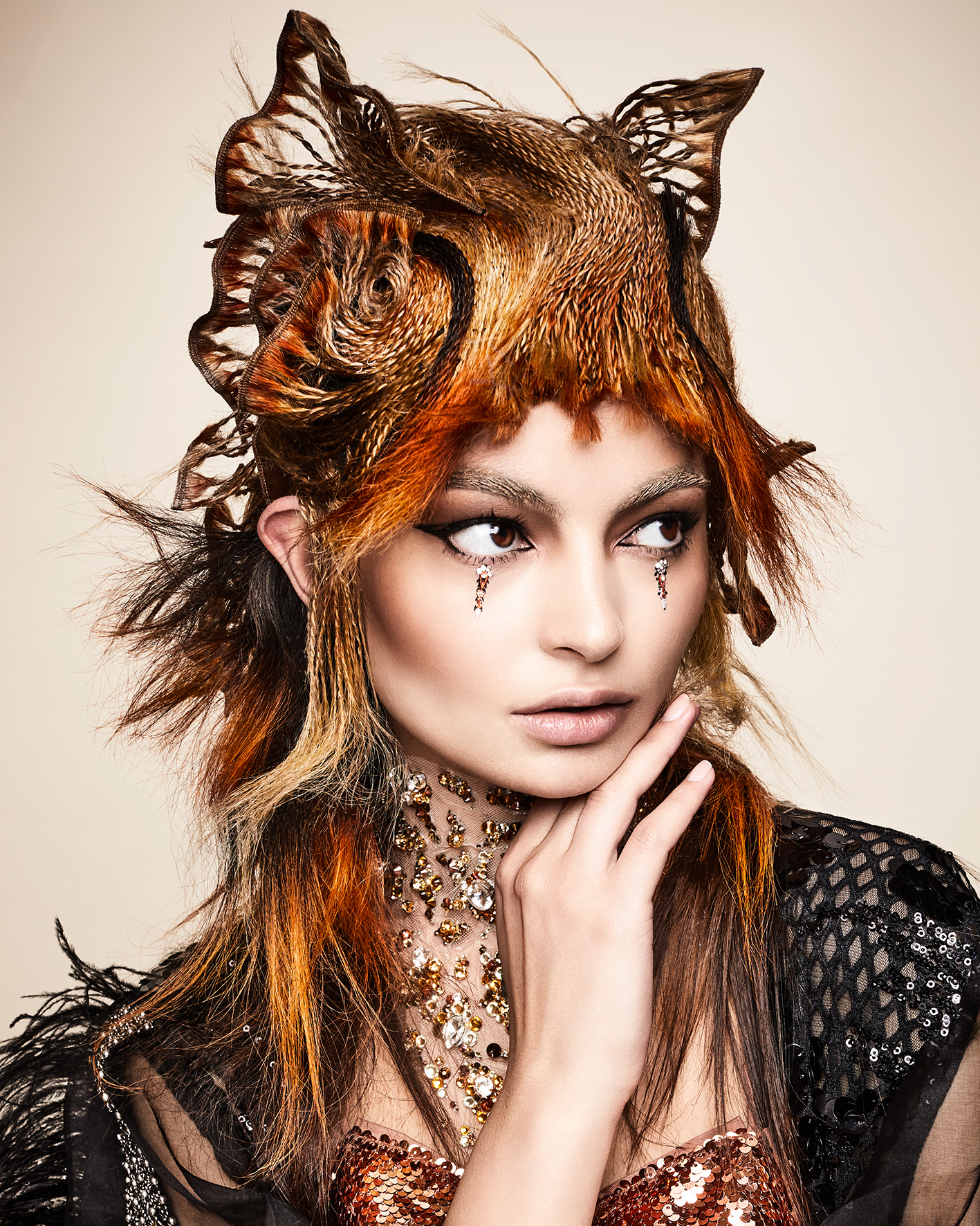Sylvestre Finold Avant Garde Hairdresser of the Year 2018 Collection pic 4