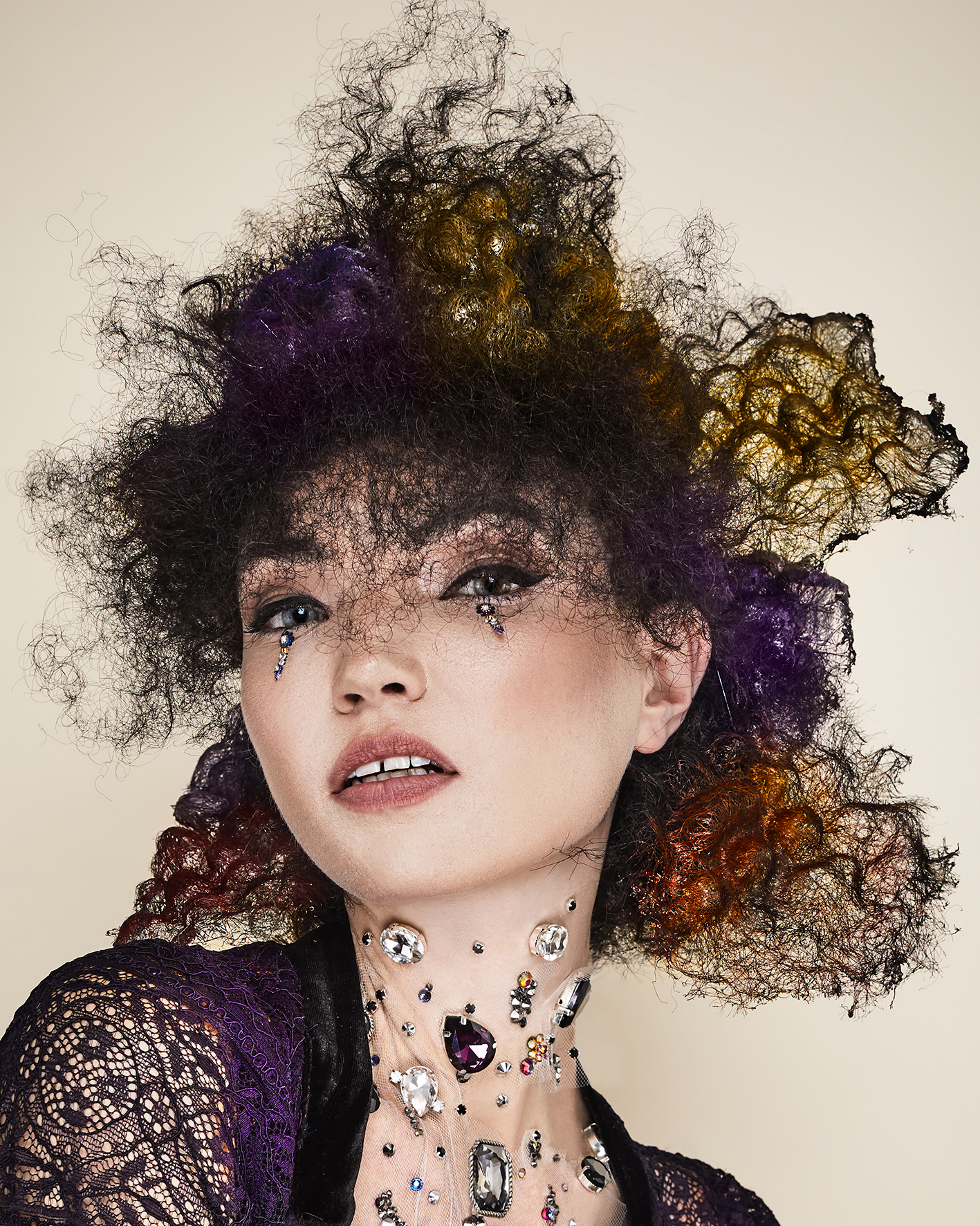 Sylvestre Finold Avant Garde Hairdresser of the Year 2018 Collection pic 6