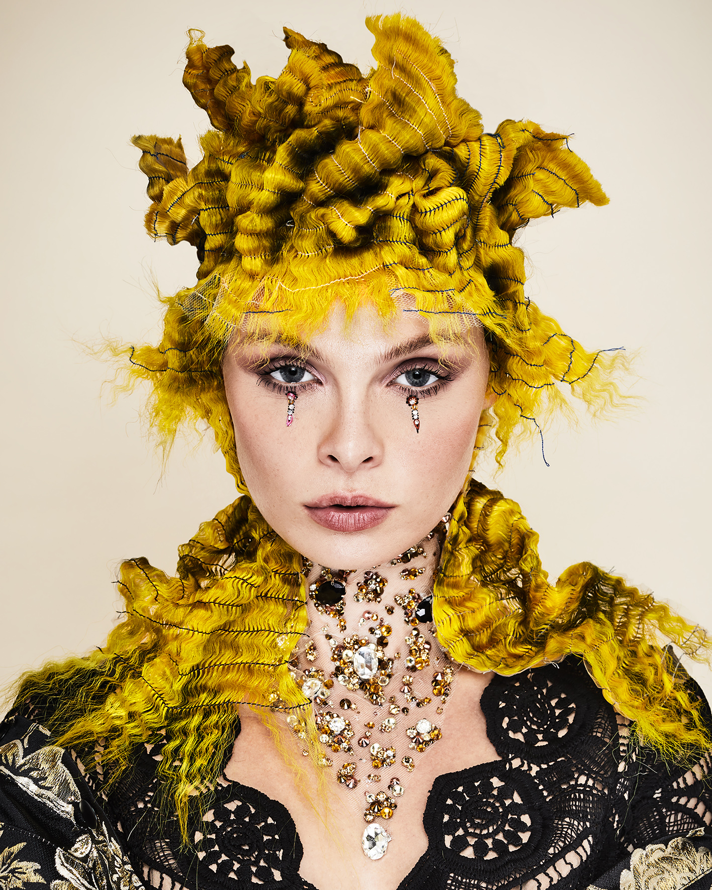 Sylvestre Finold Avant Garde Hairdresser of the Year 2018 Collection pic 7