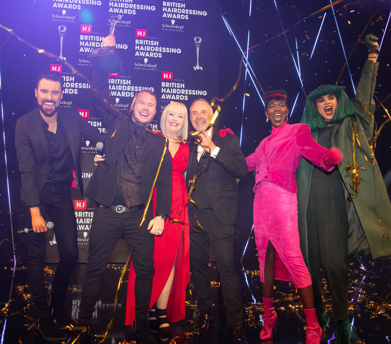 British Hairdresser of the Year Robert Eaton scoops BHA prize