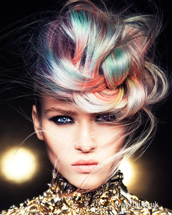 Mark Leeson British Hairdresser of the Year 2014 Collection Pic 1