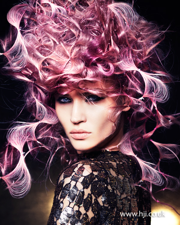 Mark Leeson British Hairdresser of the Year 2014 Collection Pic 2