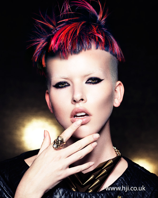 Mark Leeson British Hairdresser of the Year 2014 Collection Pic 3