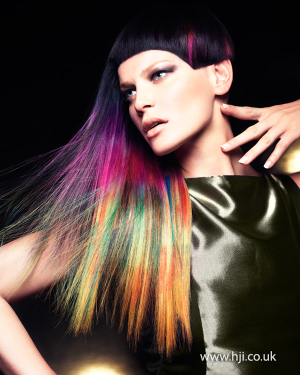 Mark Leeson British Hairdresser of the Year 2014 Collection Pic 4