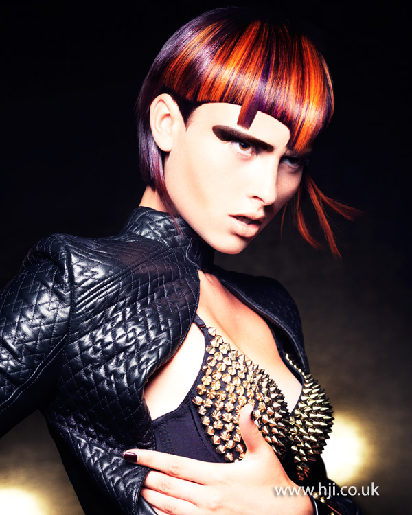 Mark Leeson British Hairdresser of the Year 2014 Collection Pic 5