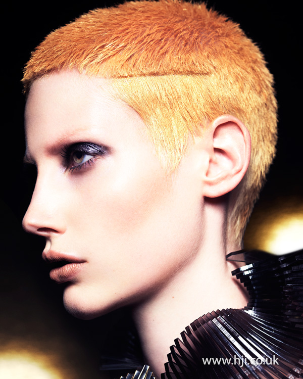 Mark Leeson British Hairdresser of the Year 2014 Collection Pic 7