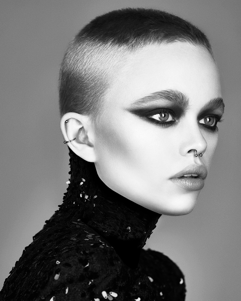 Marcello Moccia and Karen Perry North Western Hairdresser of the Year 2018 Collection pic 3