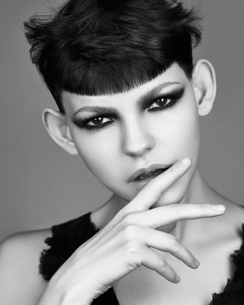 Marcello Moccia and Karen Perry North Western Hairdresser of the Year 2018 Collection pic 4