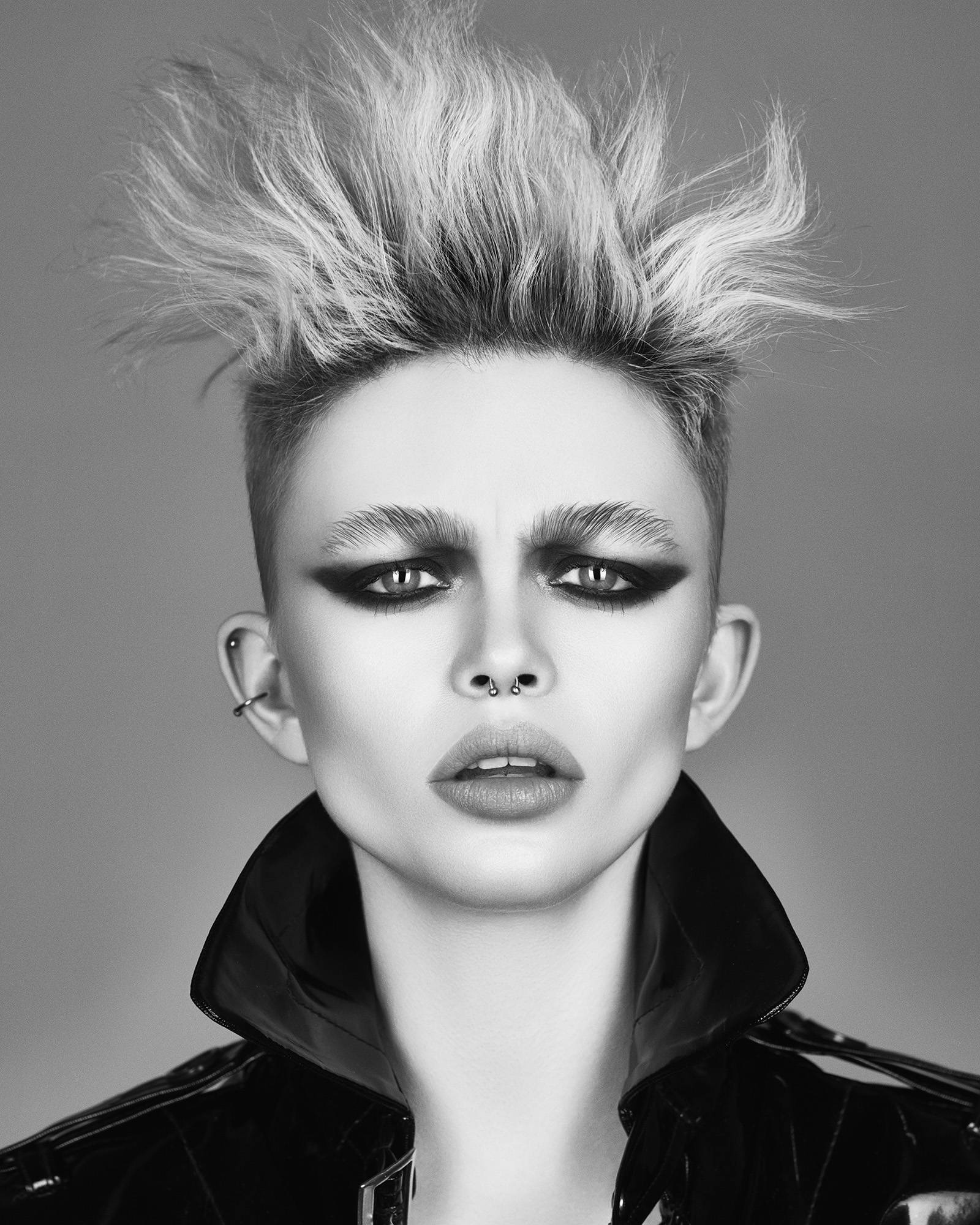 Marcello Moccia and Karen Perry North Western Hairdresser of the Year 2018 Collection pic 5