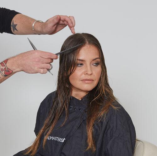 headmasters noughties hairstyle step 1