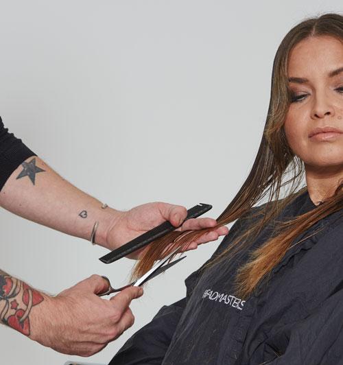 headmasters noughties hairstyle step 2