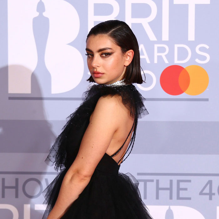 charli xcx brit awards hair 2020