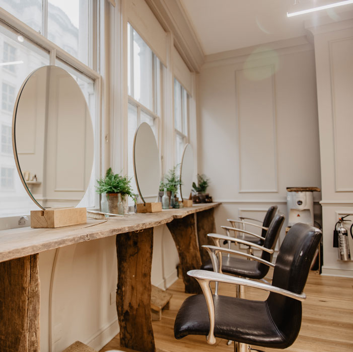 Sustainable salon