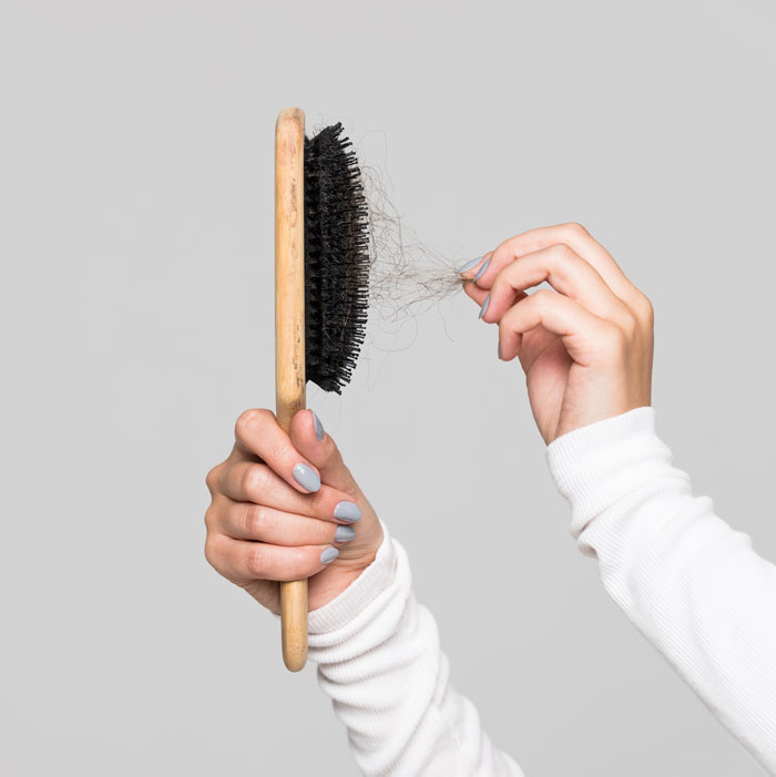 hair loss during coronavirus